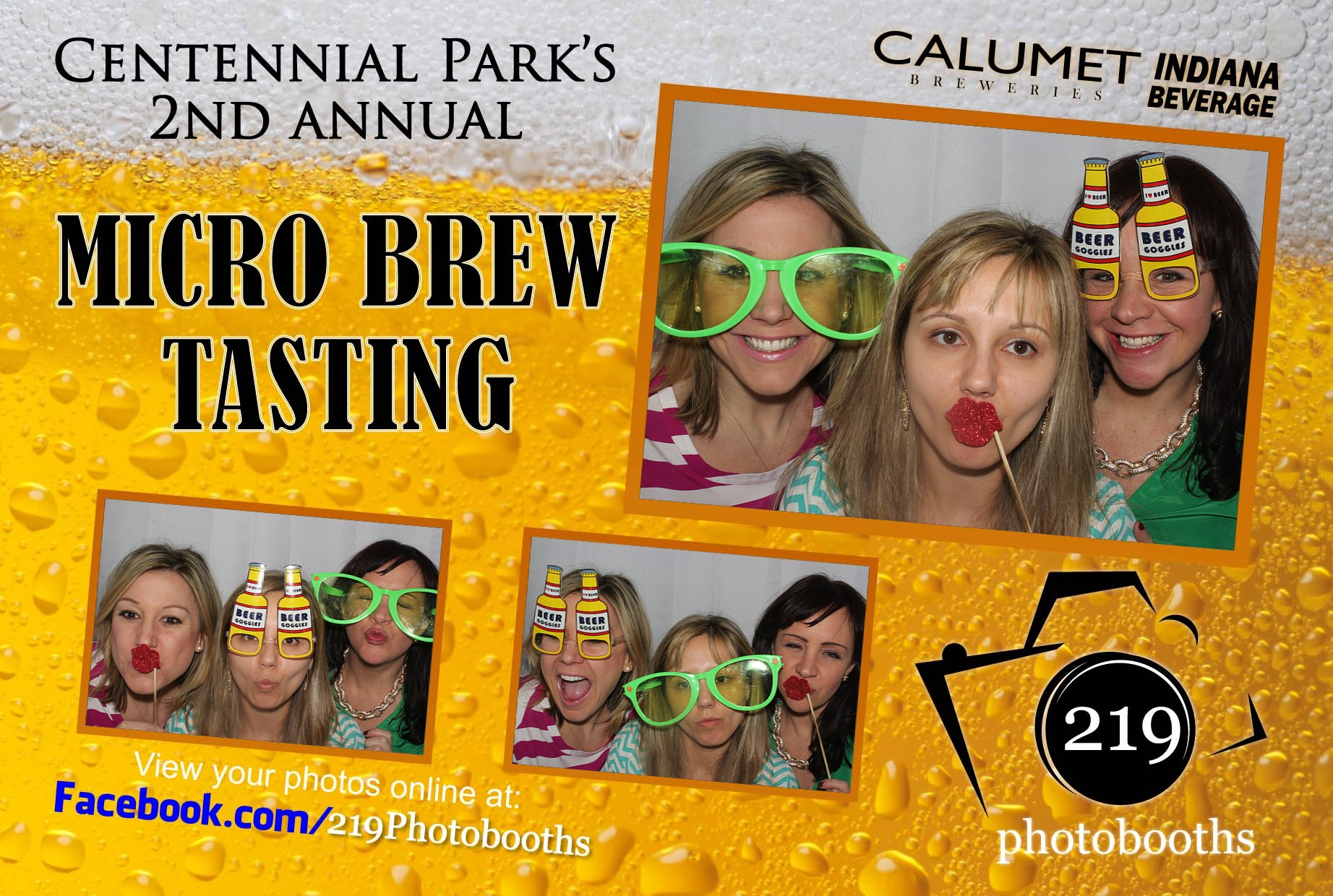 Indiana Beverage Photo Booth