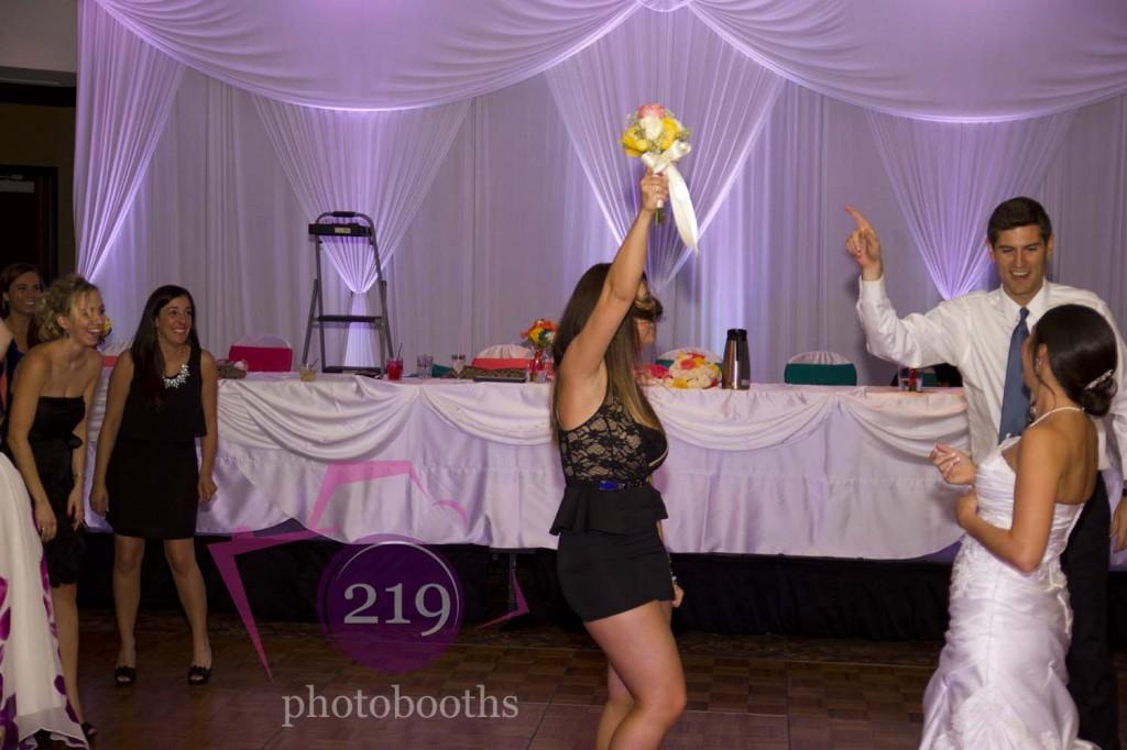 Munster Wedding Bouquet Toss