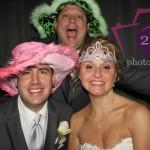 Centennial Park wedding photobooth couple