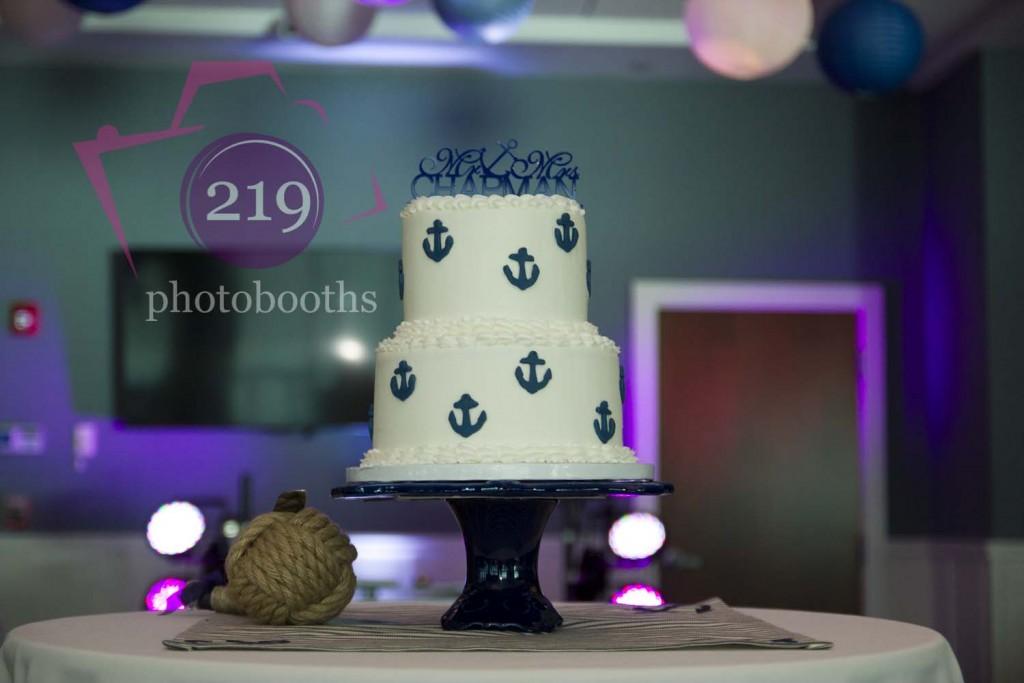 Lighthouse Restaurant Wedding Cake
