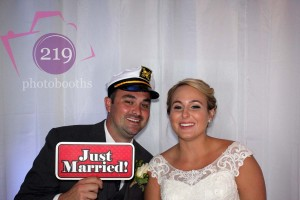 Jamie and Chuck's Sail Away Wedding | Lighthouse Restaurant | Photo Booth