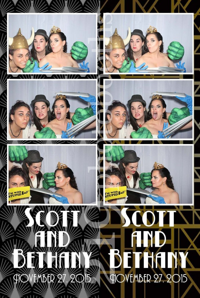 Aberdeen Manor Wedding Photo Booth
