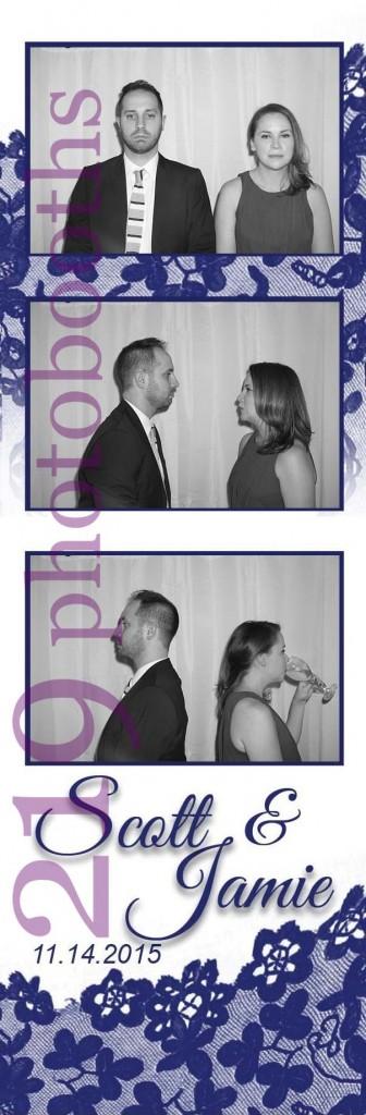 Photobooth Sand Creek Country Club Wedding