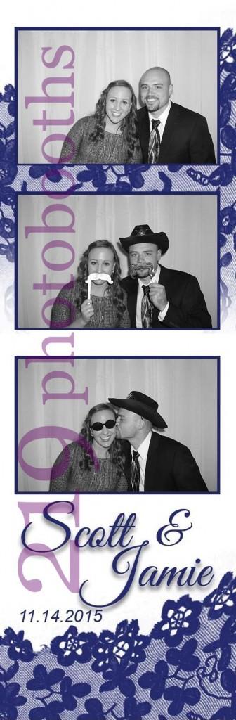 Sand Creek Country Club Photobooth Wedding