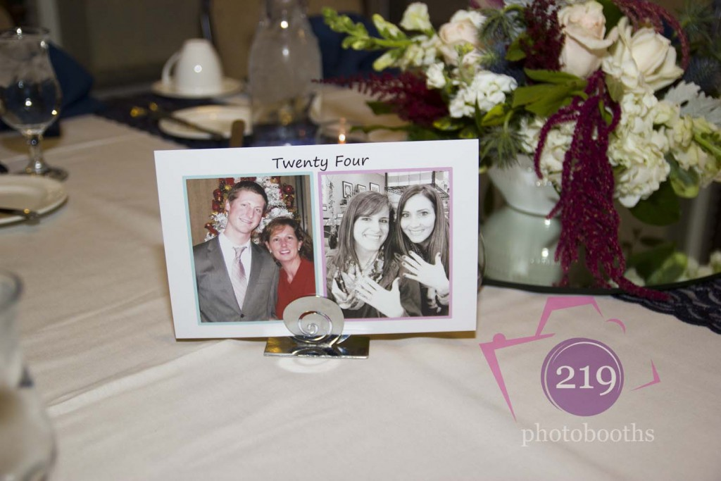 Sand Creek Country Club Wedding Table Number