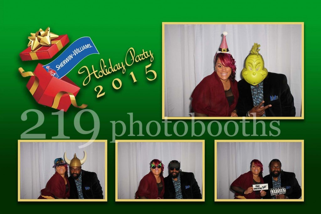 Harborside International Golf Center Holiday Party Photobooth